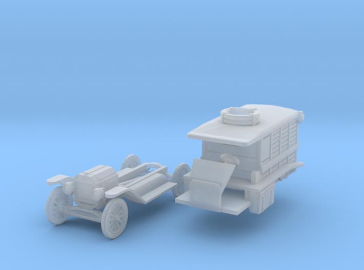 Ford Model T Ambulance (N 1:160) 3d printed