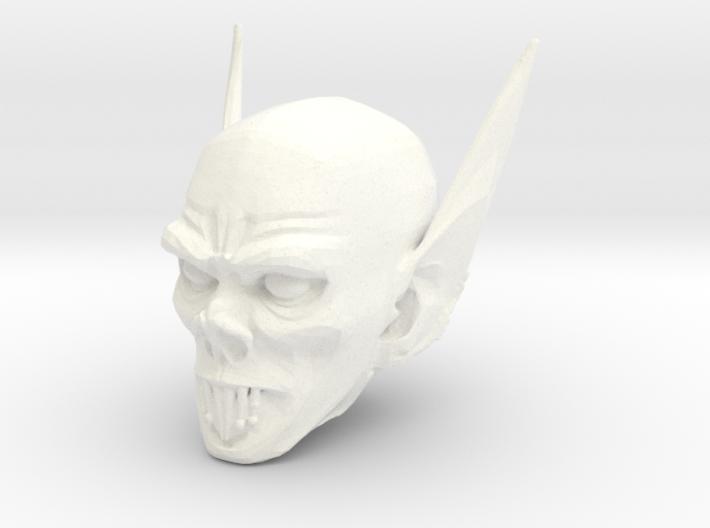vampire head 1 3d printed