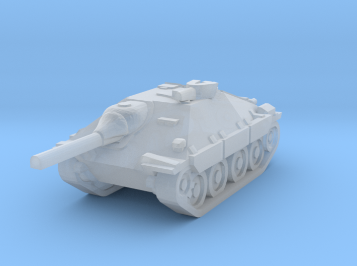 hetzer scale 1/160 3d printed