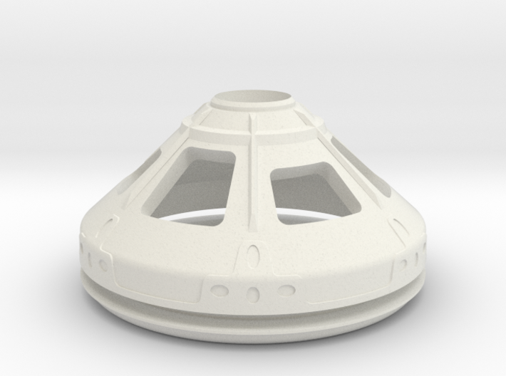 1/72 NASA/JPL MARS ASCENT VEHICLE CAPSULE R/BASE 3d printed
