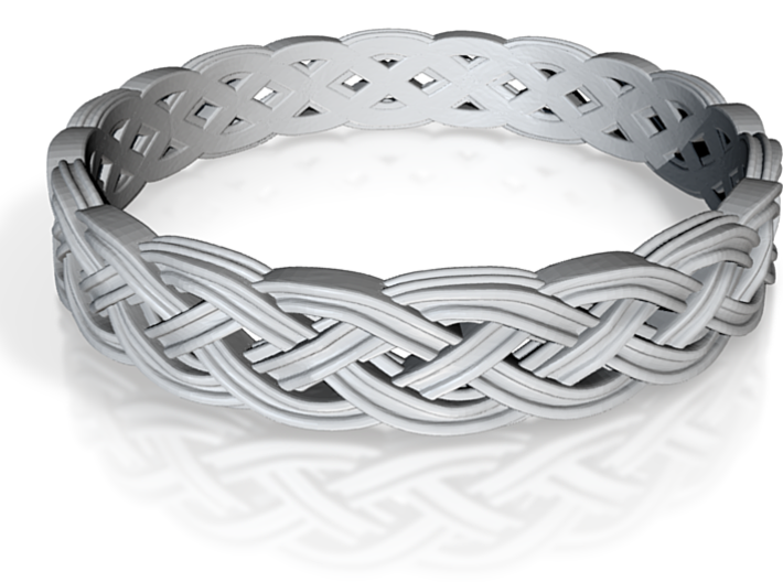 Hieno Delicate Celtic Knot Size 6.5 3d printed