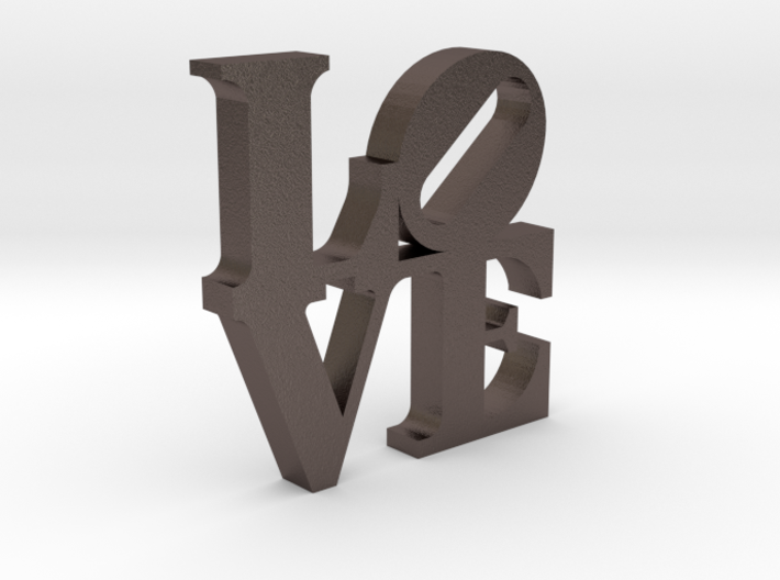 LOVE Sculpture 2 3d printed