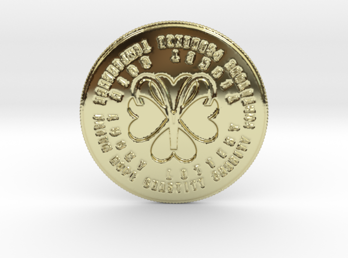 Aries Coin of 7 Virtues 3d printed