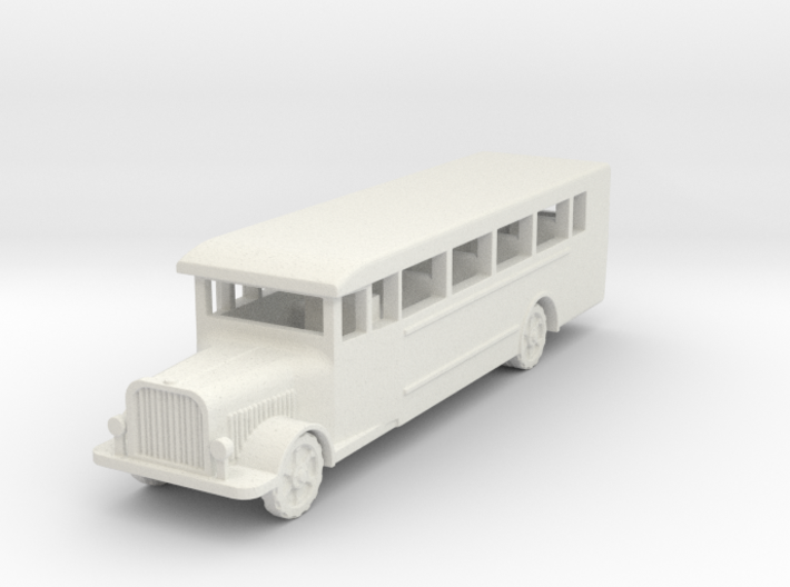 Saurer polish 1939 bus 1:87 3d printed