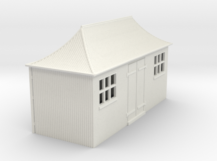 z-64-gwr-pagoda-shed-1a 3d printed