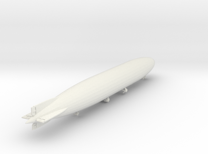 "Zeppelin LZ114 ""Dixmude"" 1/1250 scale (SLS) 3d printed"