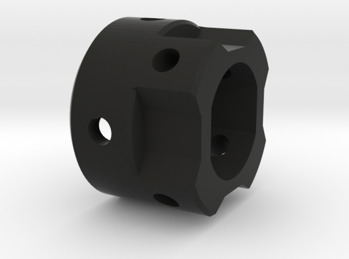 GX12 Connector Holder for side blades MALE 3d printed