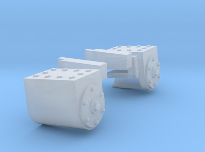 RAR cylinders Charlton 3d printed