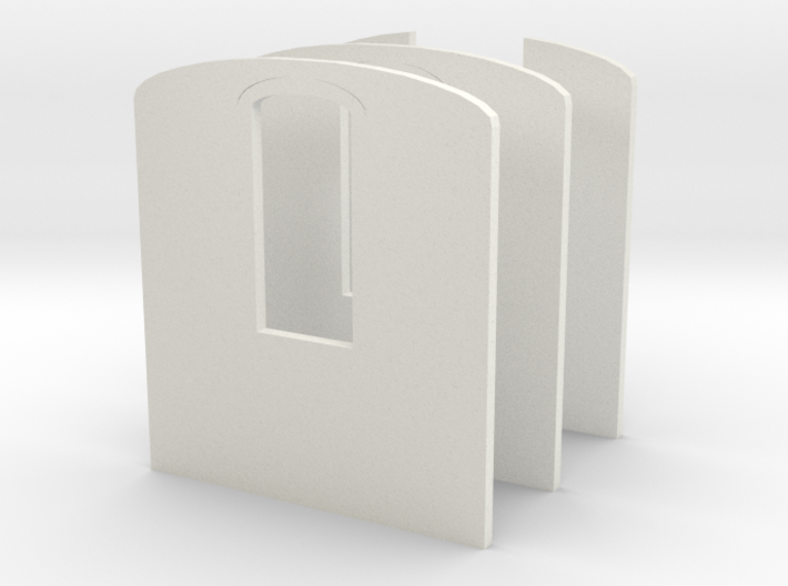 009 pullman carriage interior wall 3d printed