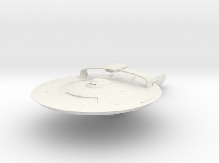 Discovery time line USS Nelson with weapon pod 4.6 3d printed