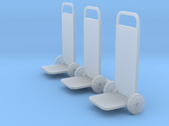 O Scale 2 Wheelers 3d printed This is a render not a picture