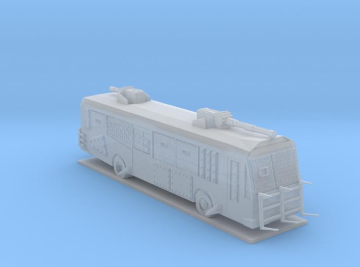 Battle Bus 3d printed