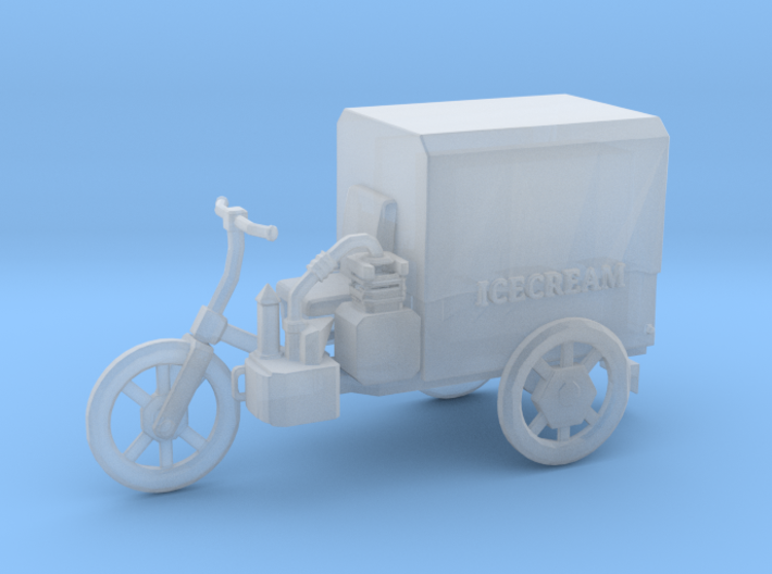 S Scale Icecream Mobile 3d printed This is a render not a picture