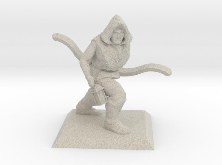 Explorer Elf Ranger 3d printed