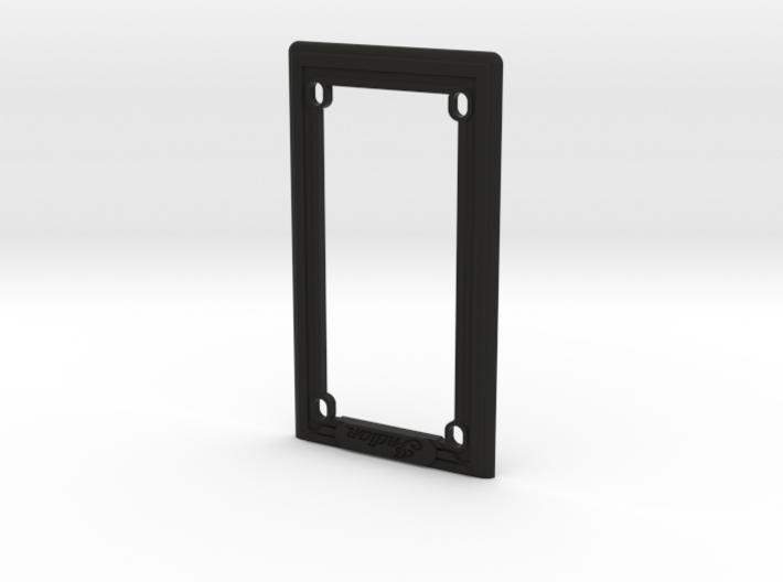 Indian Scout Bobber - License Frame - Vertical 3d printed