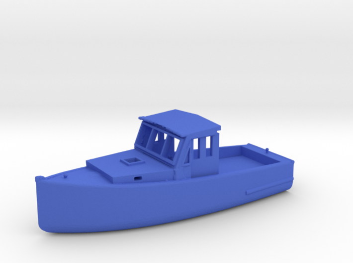 HO Scale Fishing Boat 3d printed This is a render not a picture