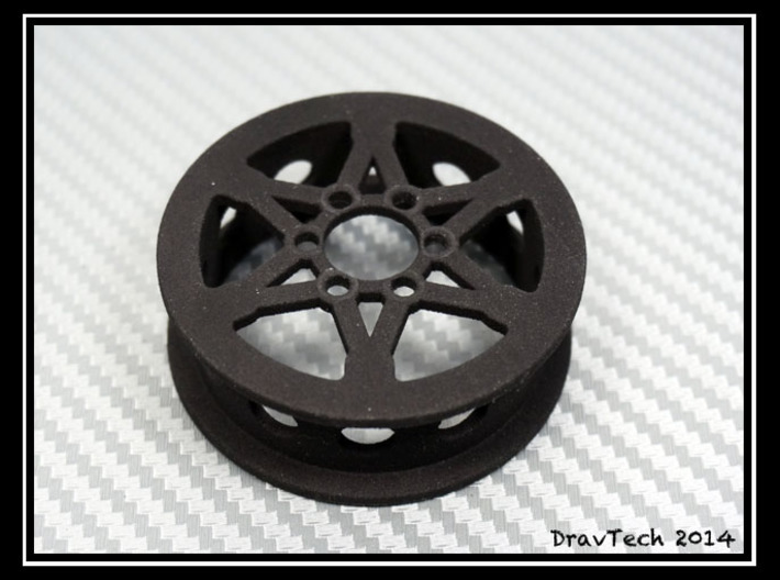 "1.9"" Wheel for SLW or Axial hubs 3d printed"
