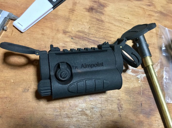 Aimpoint CS type RMR mount 3d printed
