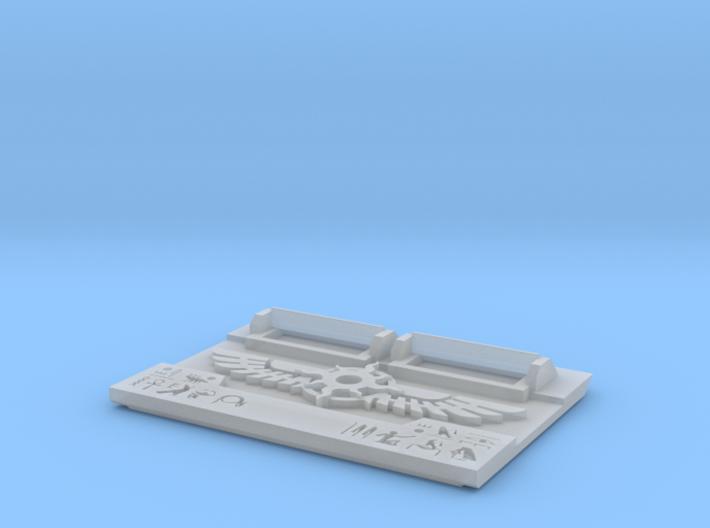 Scarab Legion : Gen2 Troop Tank-Front 3d printed