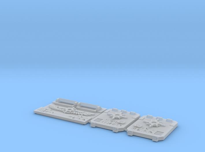 Scarab Legion : Troop Tank M2a - Combo Kit 3d printed