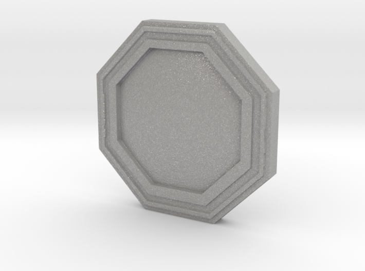 Star wars Sabacc Solo Octagon Plain coin chip 3d printed