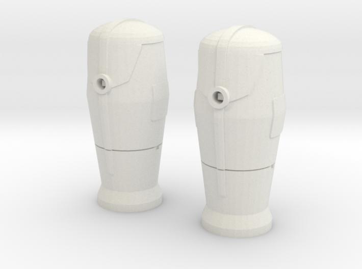 1 / 43 Bornes d'incendie / Fire hydrant X 2 3d printed