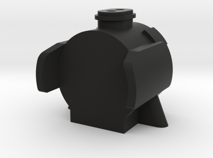 TWR A3 Double Chimney Smokebox 3d printed