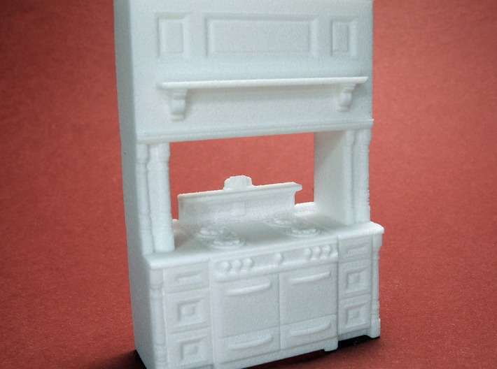 1:48 Farmhouse Vintage Cabinet 3d printed