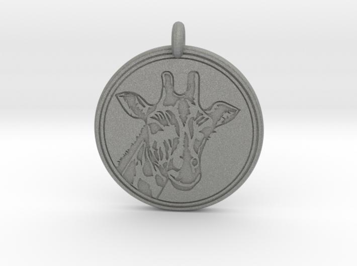 Giraffe Animal Totem Pendant 2 3d printed