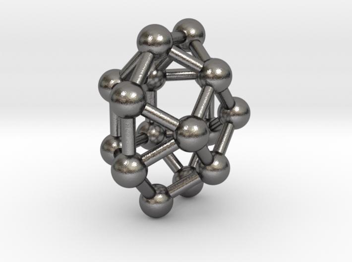0802 J29 Square Gyrobicupola (a=1cm) #3 3d printed