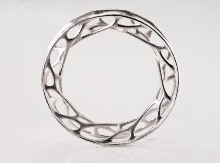 Convolution Bangle 3d printed
