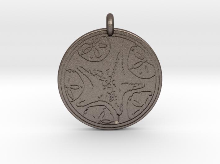 Sea Star ( Star Fish) Animal Totem Pendant 3d printed
