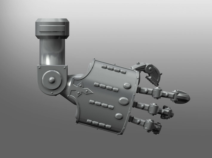 Squire-Engine Energy Gauntlet 3d printed