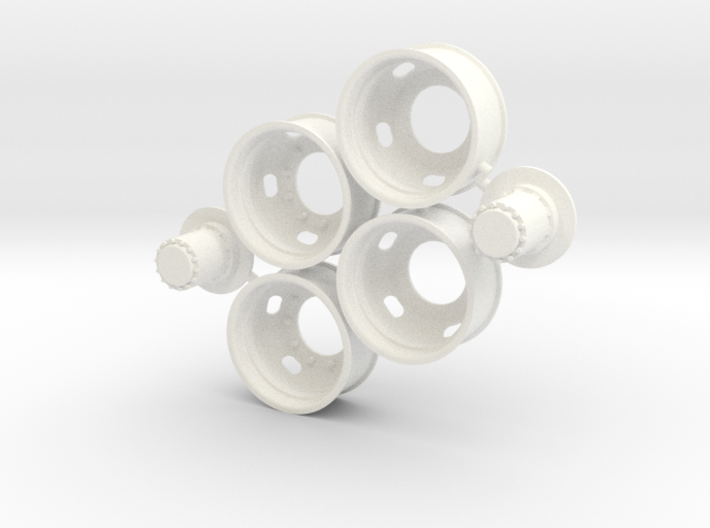 5-Hole Rear Rims Generic 3d printed