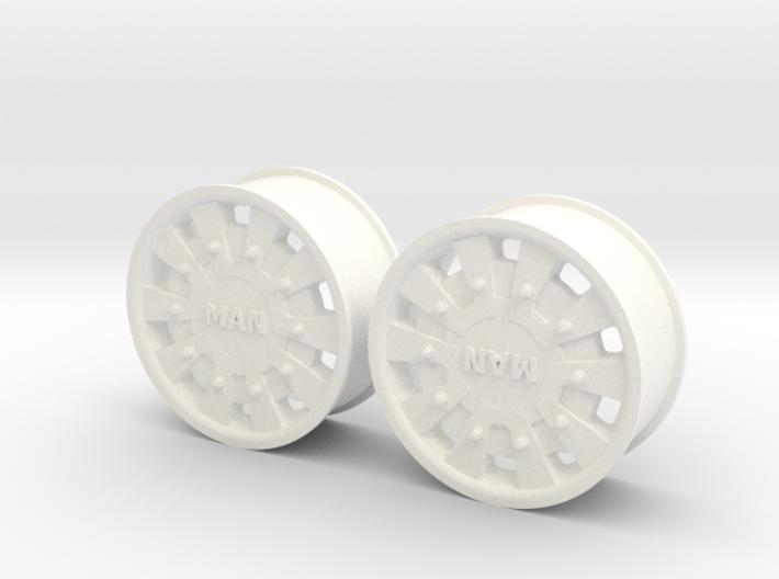 MAN TGA/X Normal Front Rim 3d printed