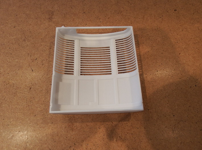 Carrier Reefer unit (hollow shell) 3d printed
