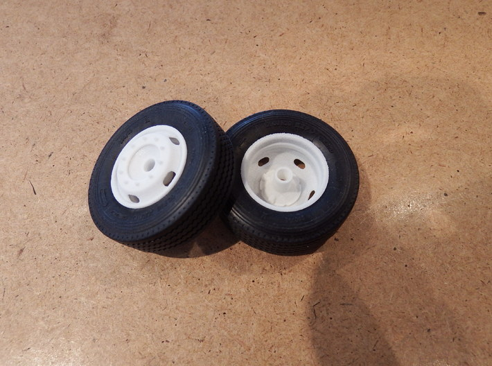 5-Hole Front Rims Generic  3d printed