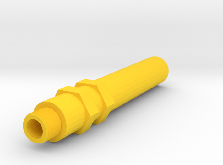 100mm 14mm- Insanity Airsoft Barrel Extension 3d printed
