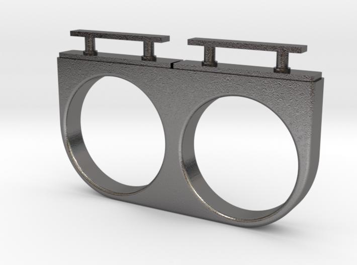 2-Drawer Ring, Modern 3d printed