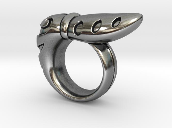 Chrysalis Ring 2 - Size 9 (18.95 mm) 3d printed