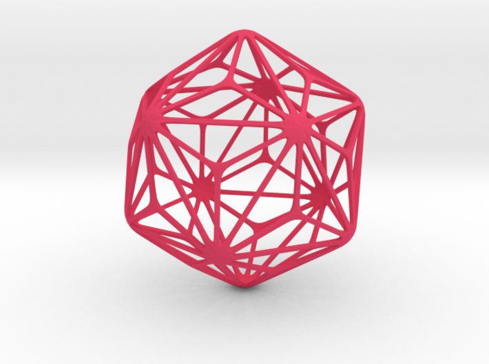 Triakis Icosahedron 3d printed
