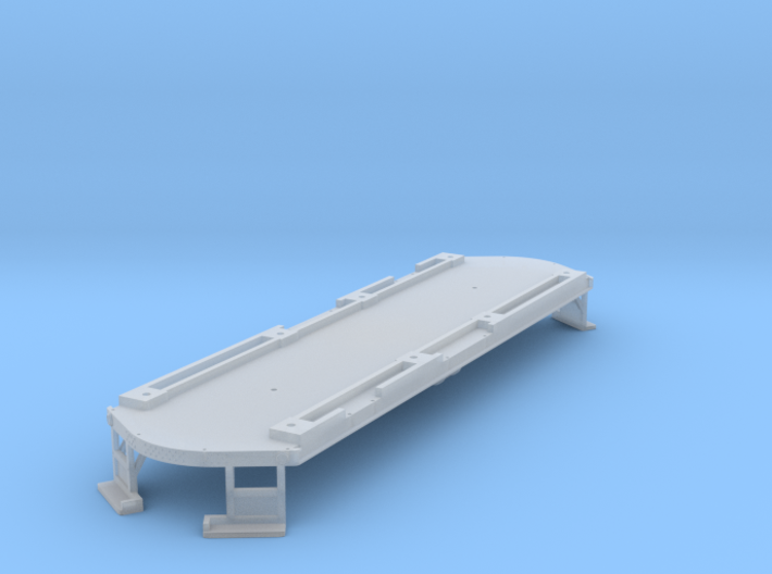 High Res O Scale Illinois Terminal Class B Floor 3d printed