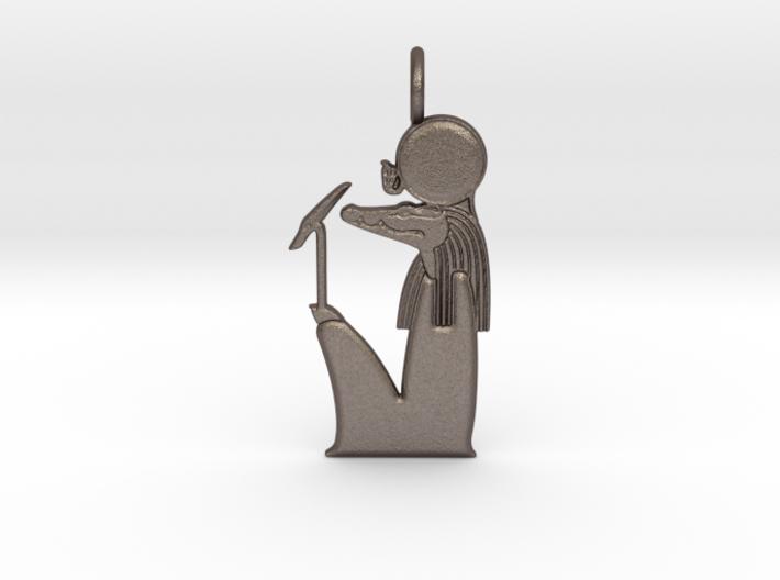 Sobek-Ra amulet 3d printed