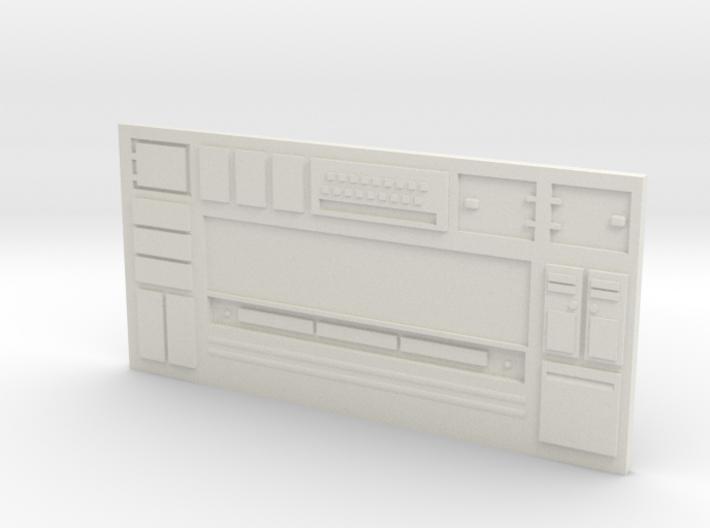 Long Sci-Fi Wall 3d printed