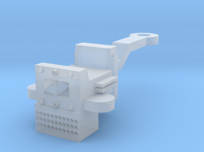 O Scale P & W Brill Bullet Coupler 3d printed