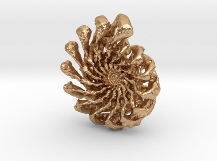 Wild Ammonite 3d printed