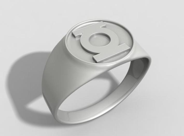 Green Lantern ring US12 3d printed