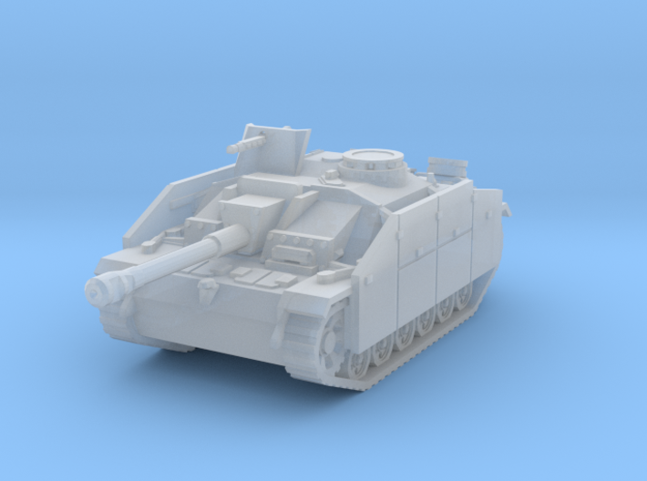 StuG III G early (skirts) scale 1/87 3d printed