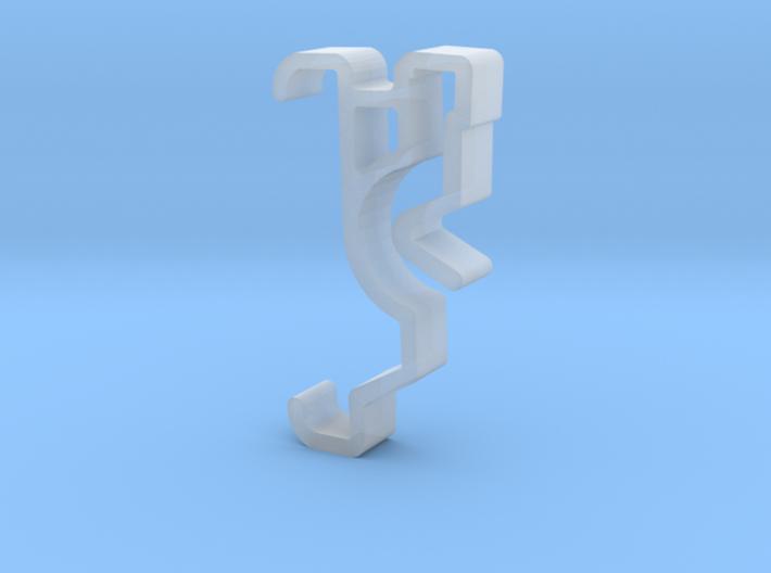 Blind Valance Clip 00129 SM B 3d printed