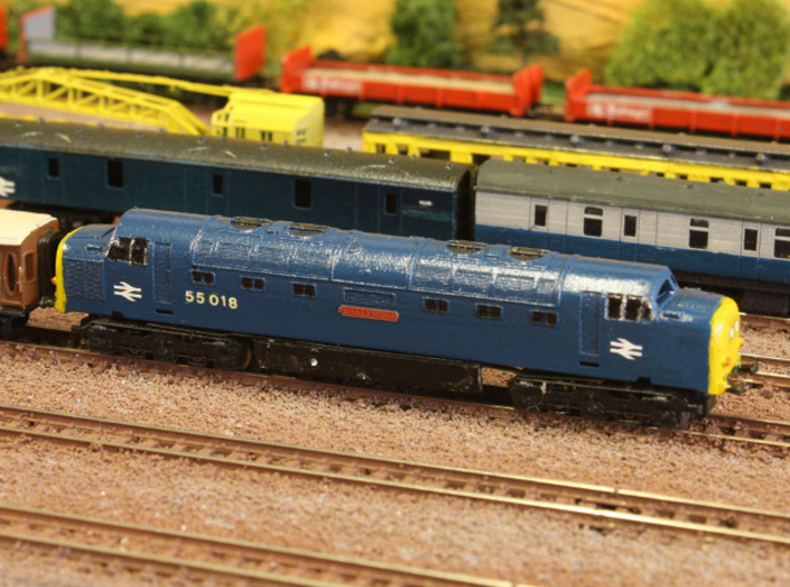 "Class 55 ""Deltic"" Z 1:220 3d printed"
